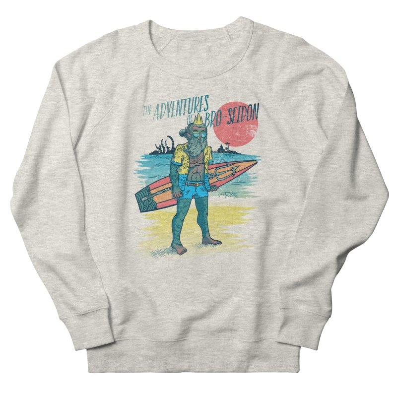 The Adventures of Bro-Seidon Men's Sweatshirt by Jesse Nickles