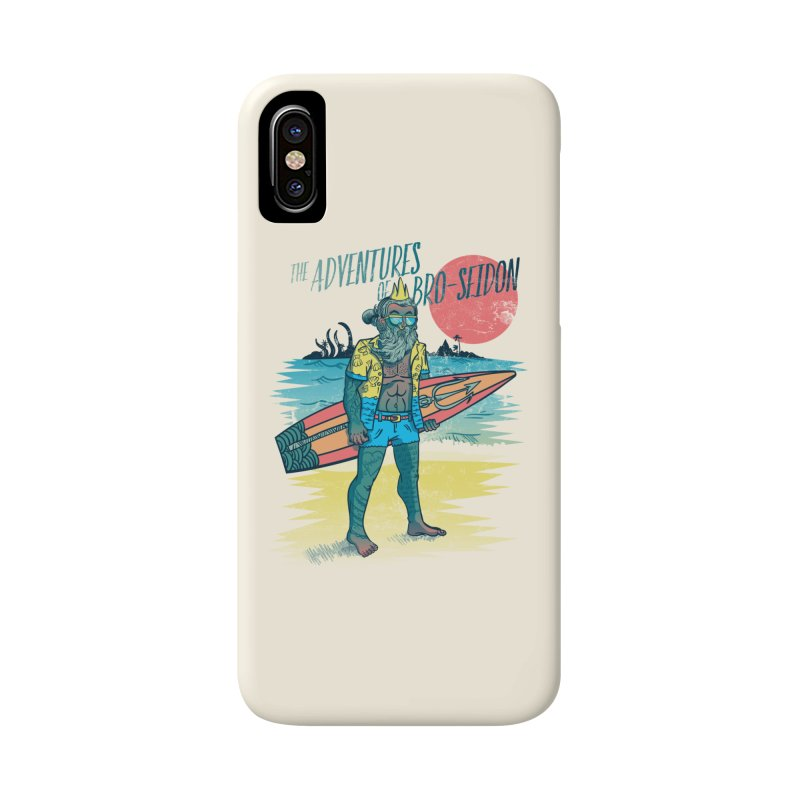 The Adventures of Bro-Seidon Accessories Phone Case by Jesse Nickles