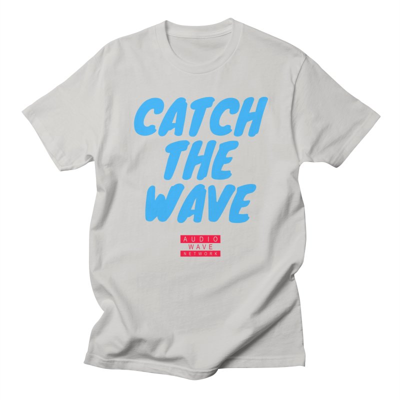 Catch The Wave Men's T-Shirt by Audio Wave Network
