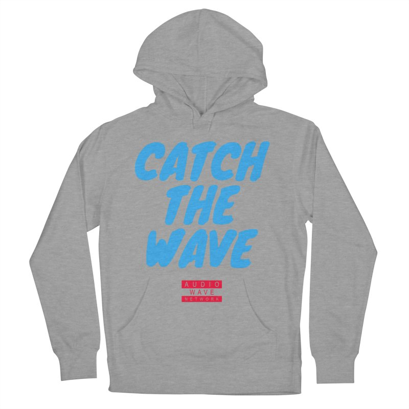 Catch The Wave Men's French Terry Pullover Hoody by Audio Wave Network