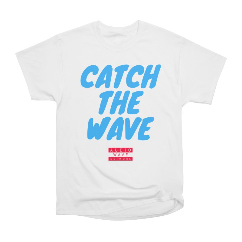 Catch The Wave Men's Heavyweight T-Shirt by Audio Wave Network