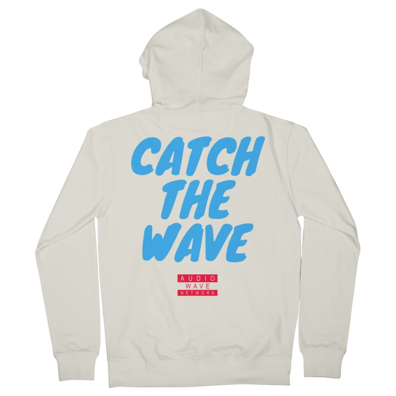 Catch The Wave Men's French Terry Zip-Up Hoody by Audio Wave Network