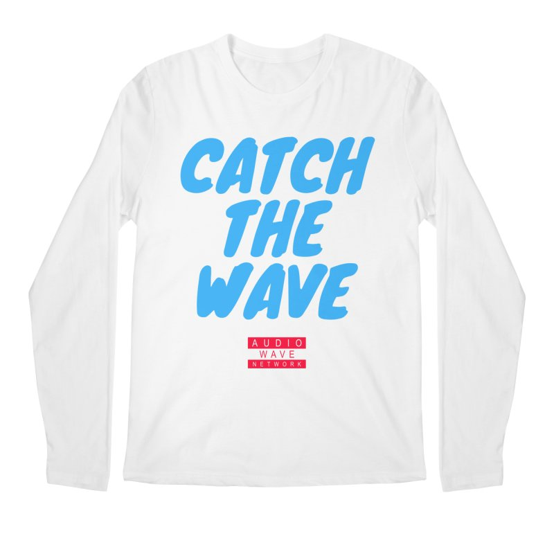 Catch The Wave Men's Regular Longsleeve T-Shirt by Audio Wave Network