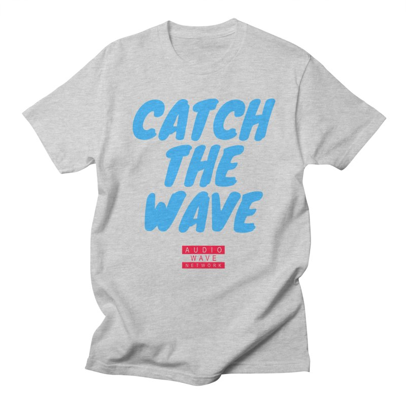 Catch The Wave Men's Regular T-Shirt by Audio Wave Network
