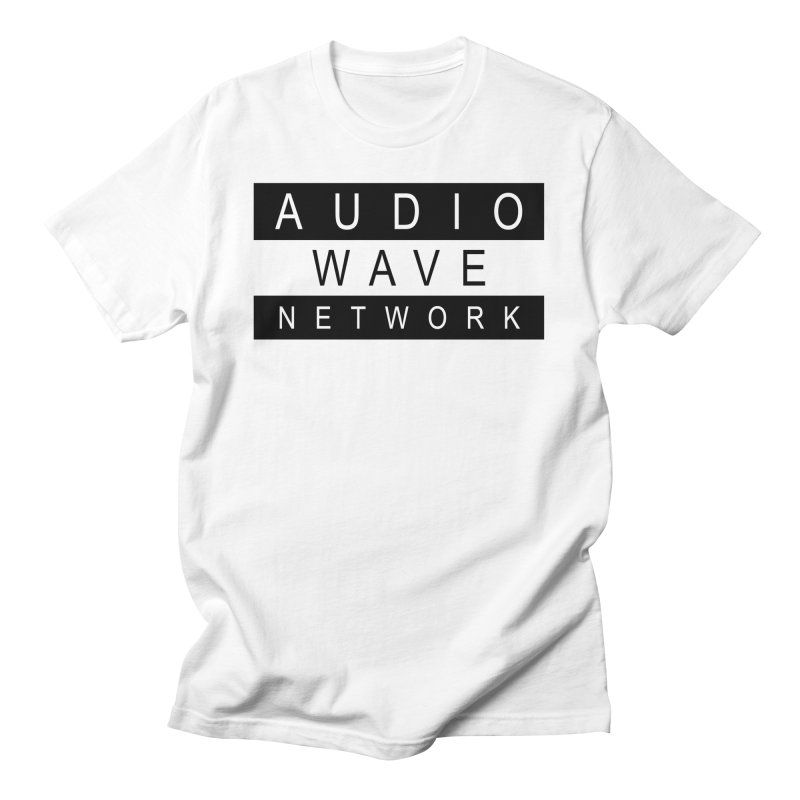B/W Stamp Men's T-Shirt by Audio Wave Network