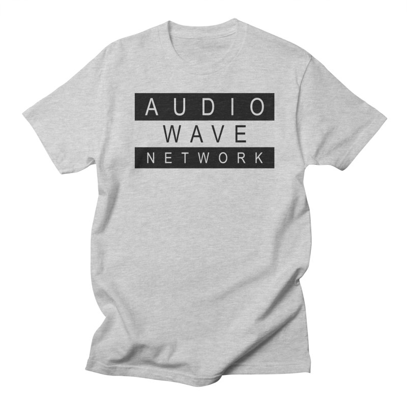 B/W Stamp Men's Regular T-Shirt by Audio Wave Network
