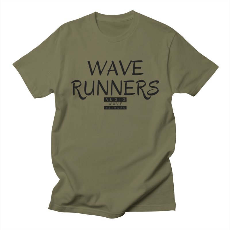 Wave Runners Men's Regular T-Shirt by Audio Wave Network