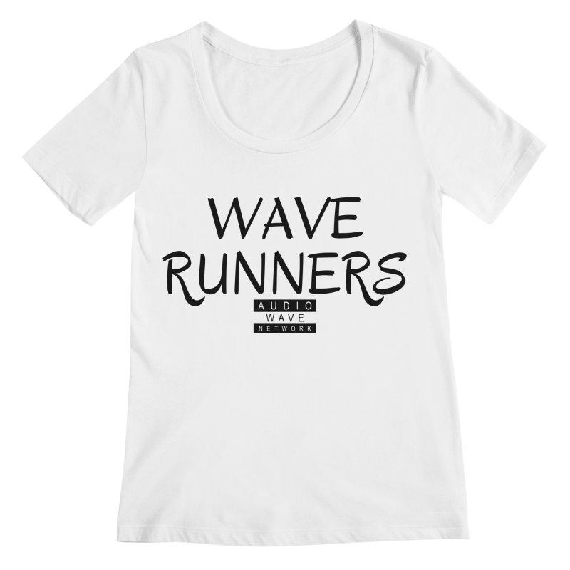 Wave Runners Women's Regular Scoop Neck by Audio Wave Network