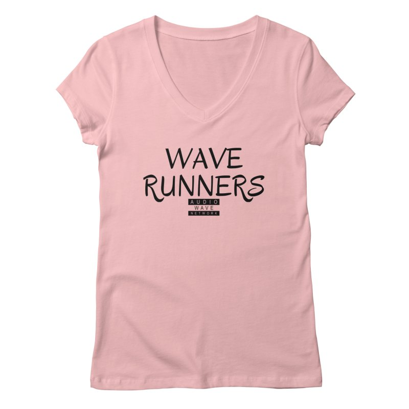 Wave Runners Women's Regular V-Neck by Audio Wave Network
