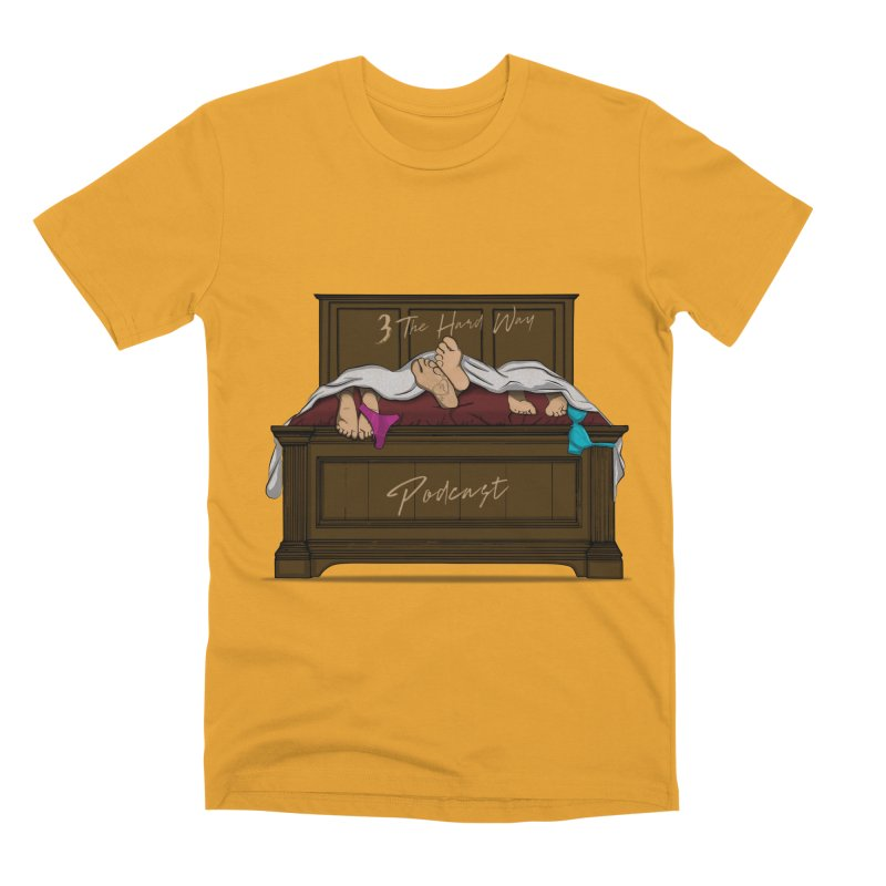 3 The Hard Way Men's Premium T-Shirt by Audio Wave Network