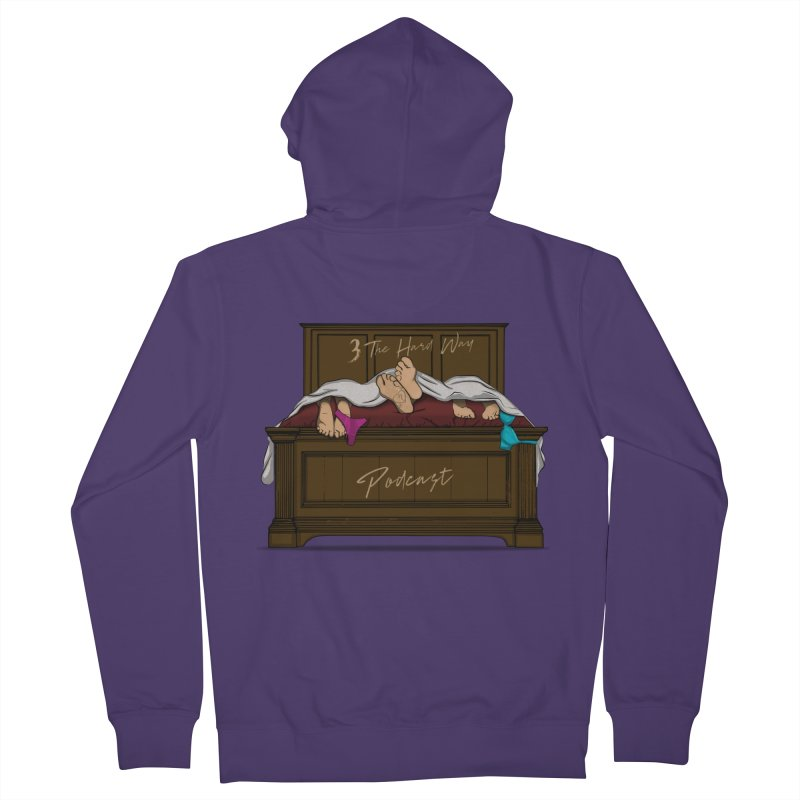 3 The Hard Way Women's French Terry Zip-Up Hoody by Audio Wave Network