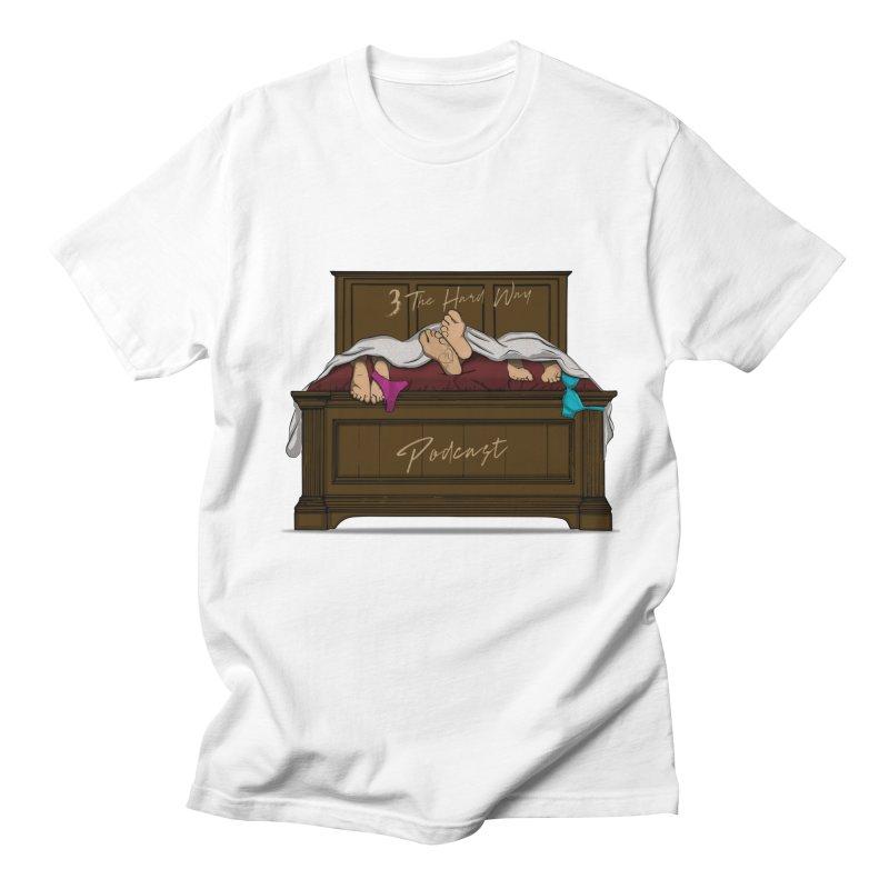 3 The Hard Way Men's Regular T-Shirt by Audio Wave Network