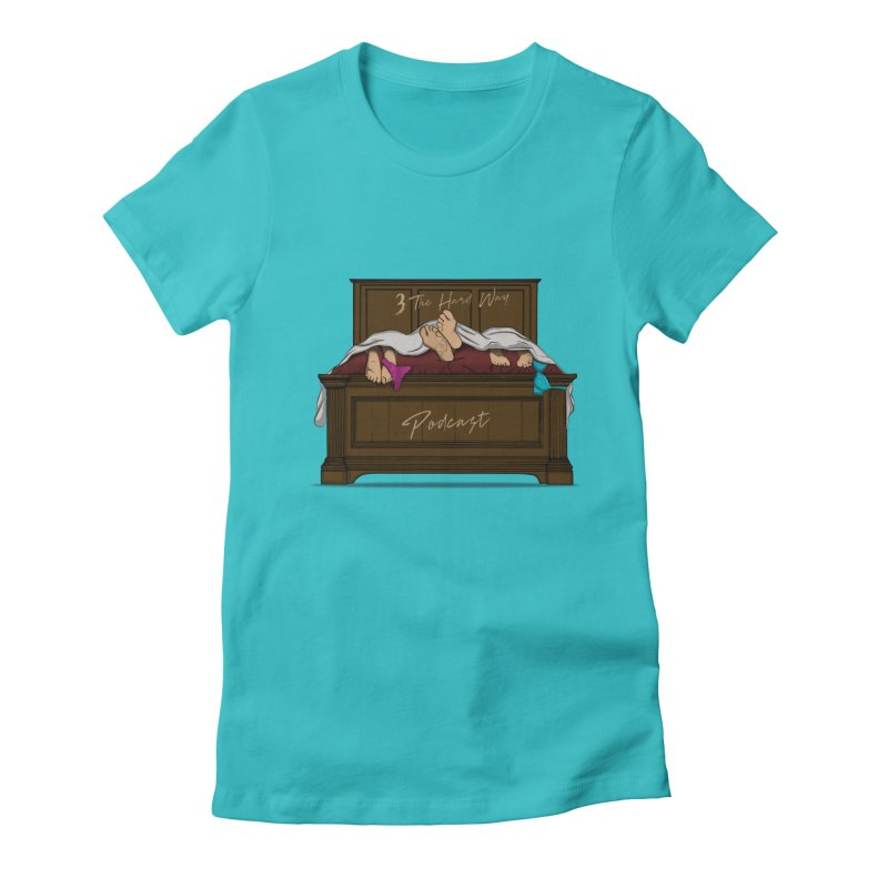 3 The Hard Way Women's T-Shirt by Audio Wave Network