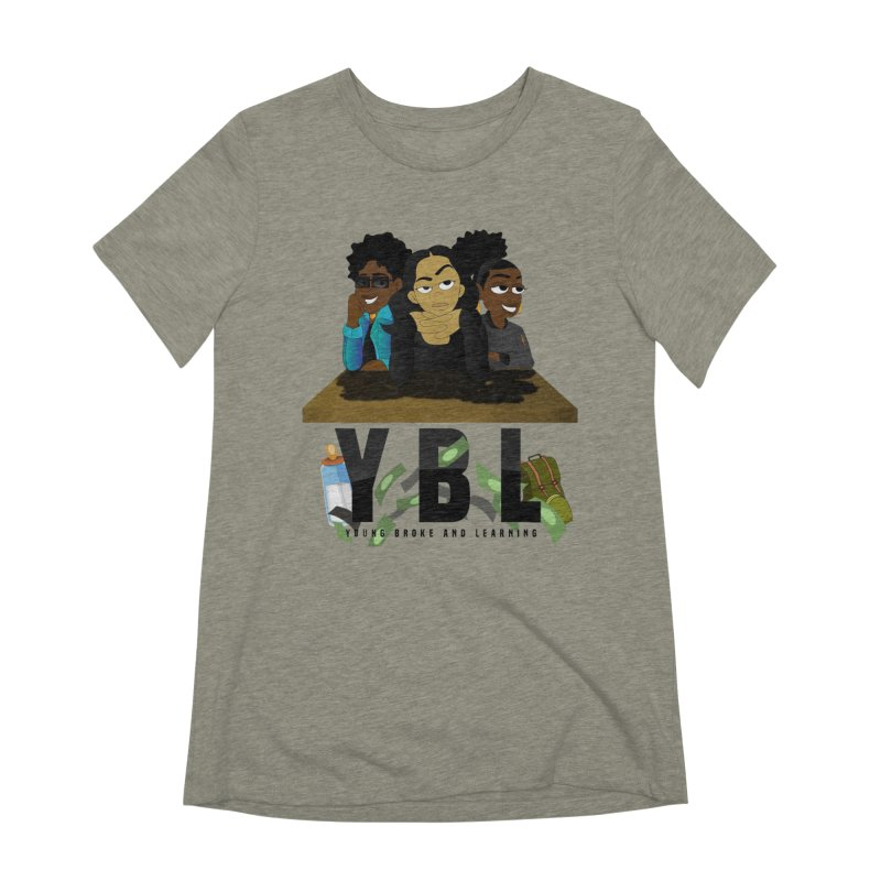 Young, Broke and Learning Women's Extra Soft T-Shirt by Audio Wave Network