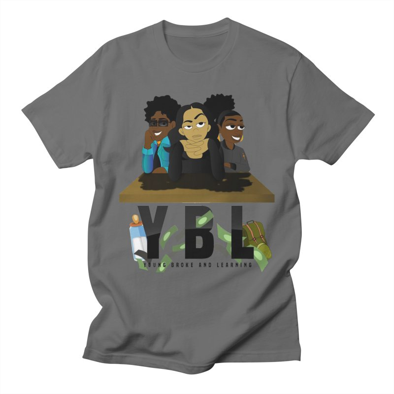 Young, Broke and Learning Men's T-Shirt by Audio Wave Network