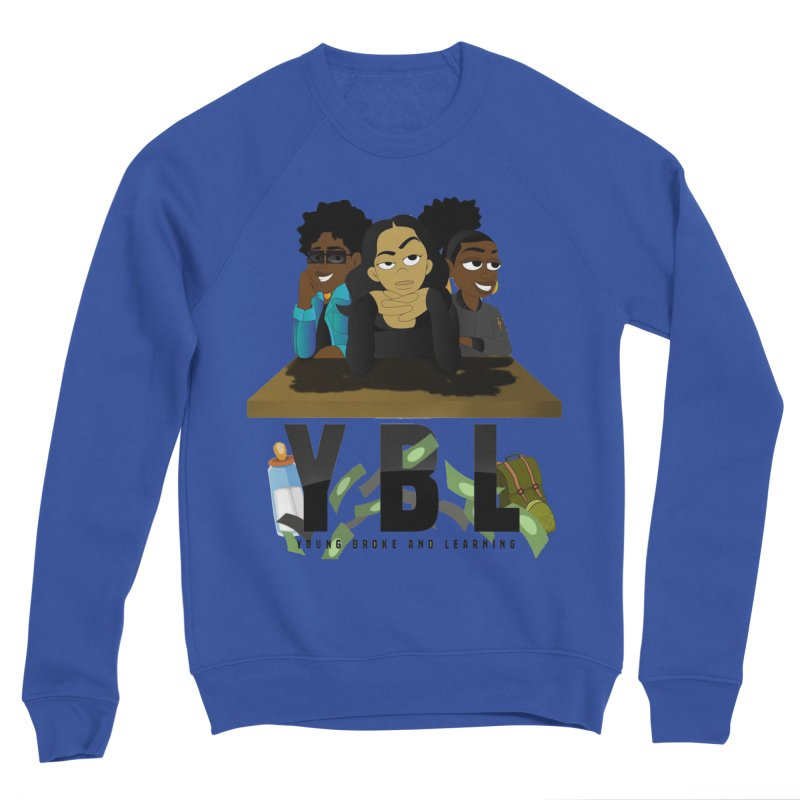 Young, Broke and Learning Men's Sweatshirt by Audio Wave Network