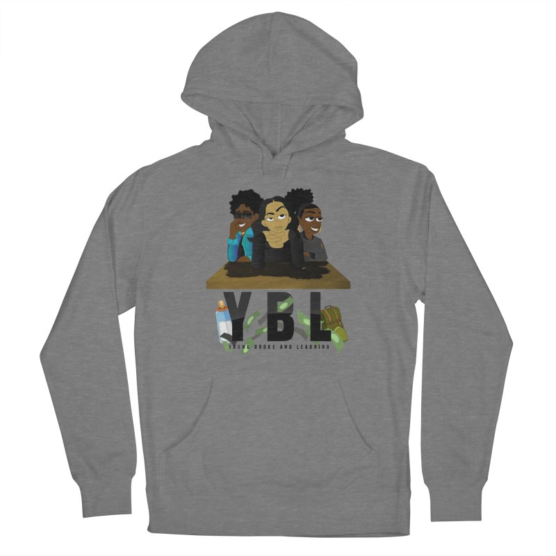Young, Broke and Learning Women's Pullover Hoody by Audio Wave Network