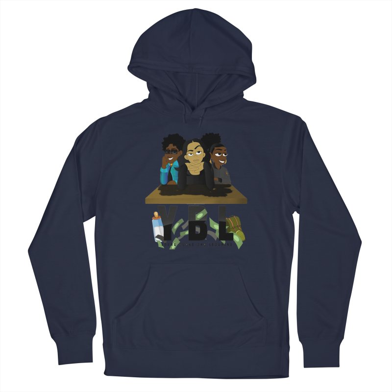 Young, Broke and Learning Men's Pullover Hoody by Audio Wave Network
