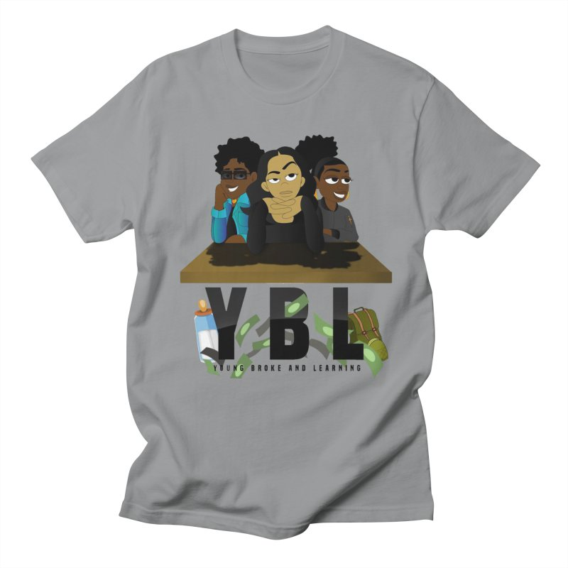 Young, Broke and Learning Women's Regular Unisex T-Shirt by Audio Wave Network
