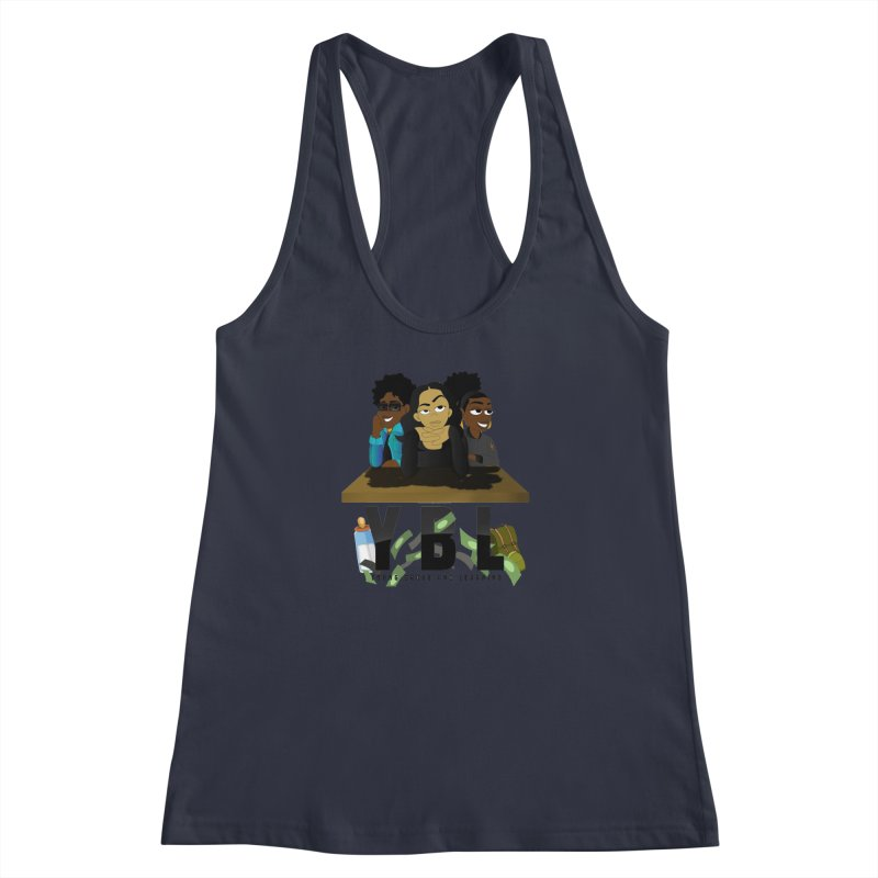 Young, Broke and Learning Women's Tank by Audio Wave Network