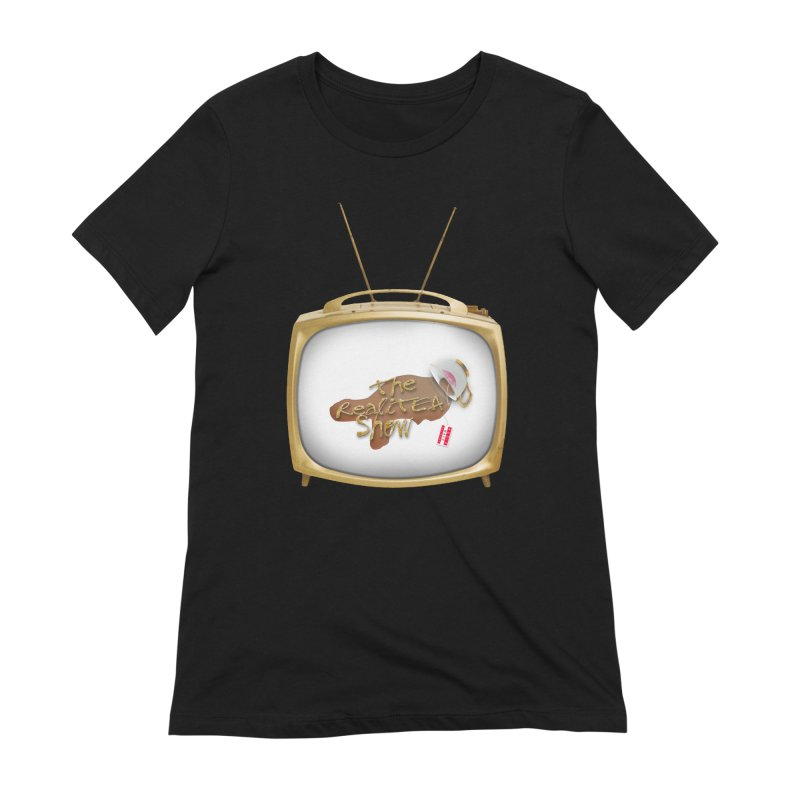 The Realitea Show Women's Extra Soft T-Shirt by Audio Wave Network