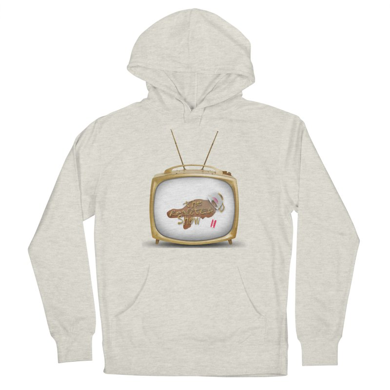 The Realitea Show Women's French Terry Pullover Hoody by Audio Wave Network