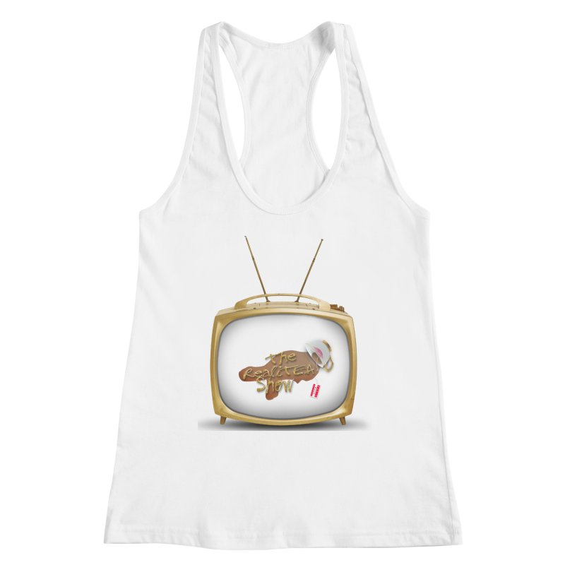 The Realitea Show Women's Racerback Tank by Audio Wave Network