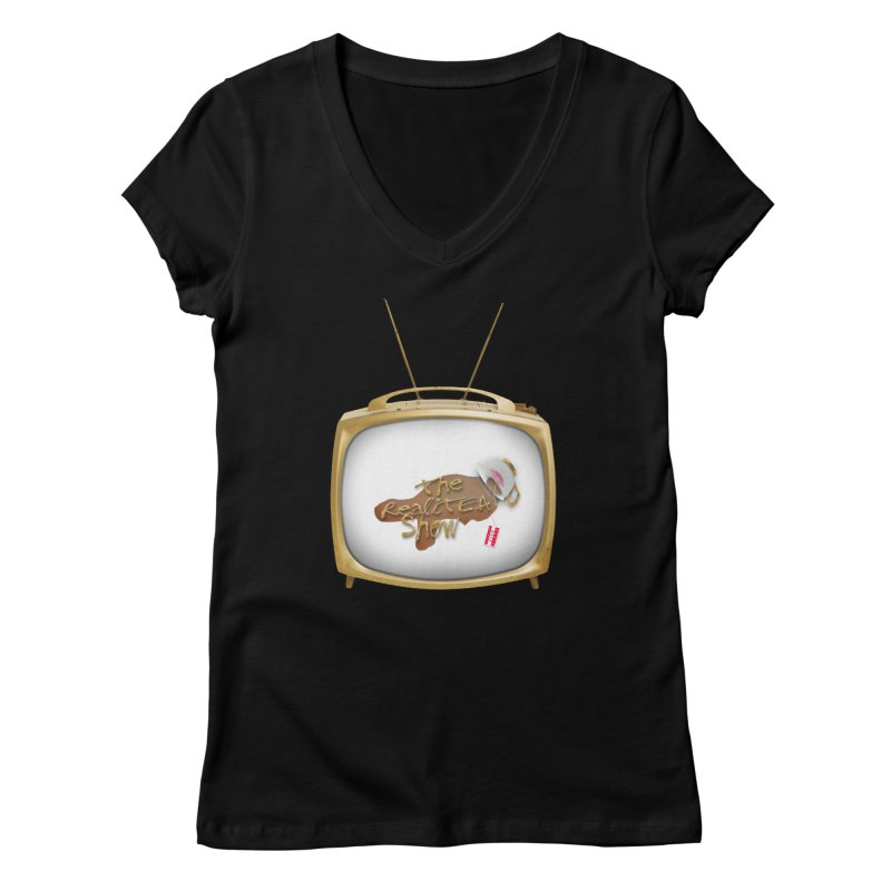 The Realitea Show Women's Regular V-Neck by Audio Wave Network