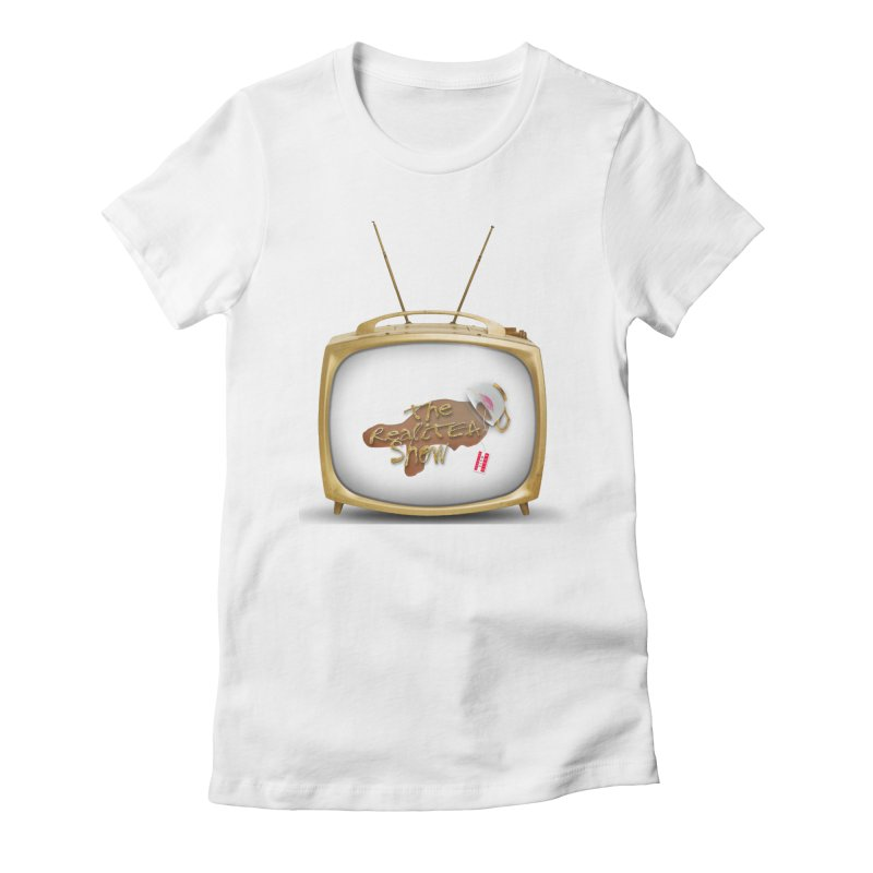 The Realitea Show Women's Fitted T-Shirt by Audio Wave Network
