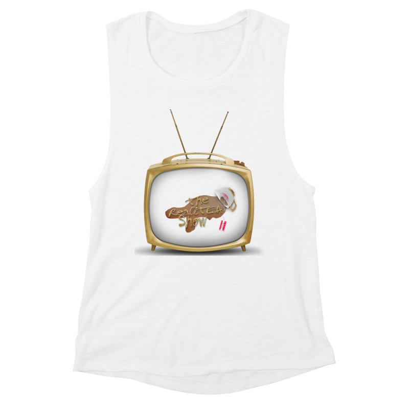 The Realitea Show Women's Muscle Tank by Audio Wave Network