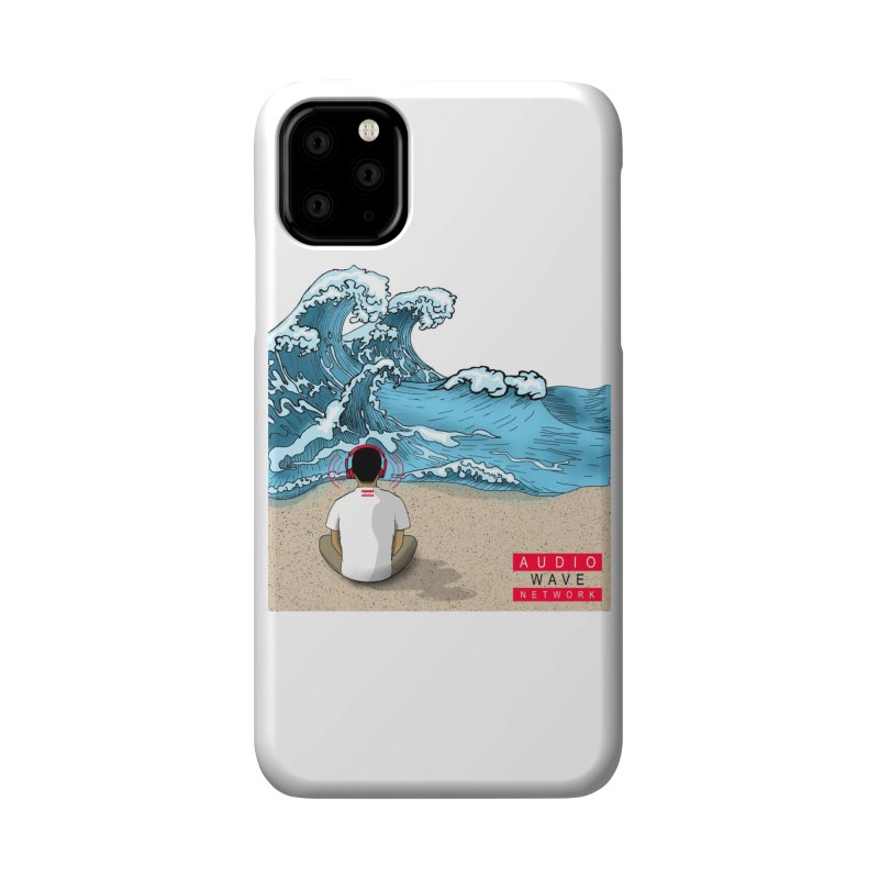 Logo Vibes Accessories Phone Case by Audio Wave Network
