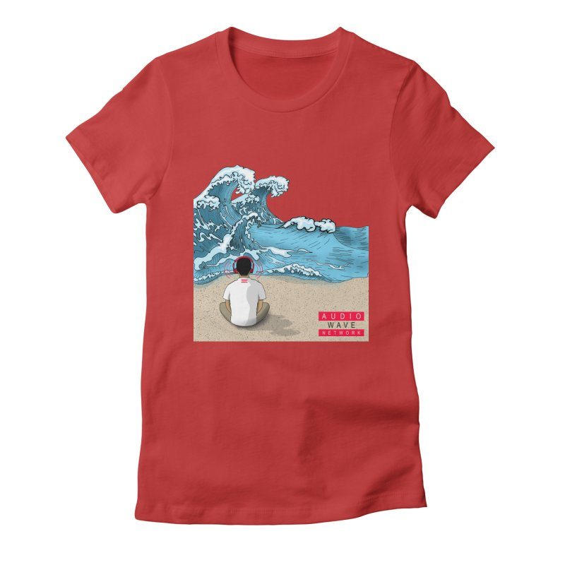 Logo Vibes Women's T-Shirt by Audio Wave Network