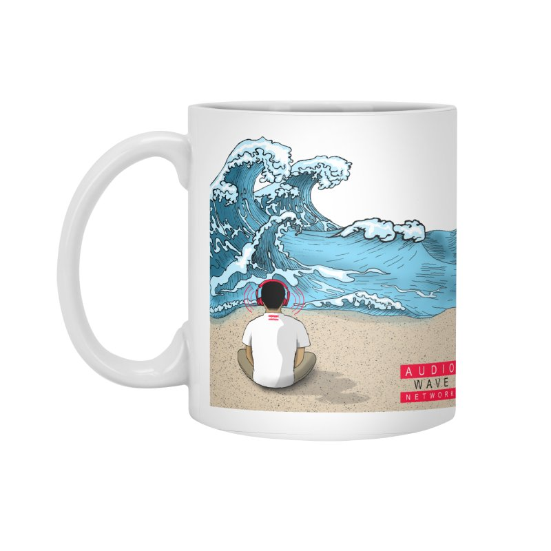 Logo Vibes Accessories Mug by Audio Wave Network
