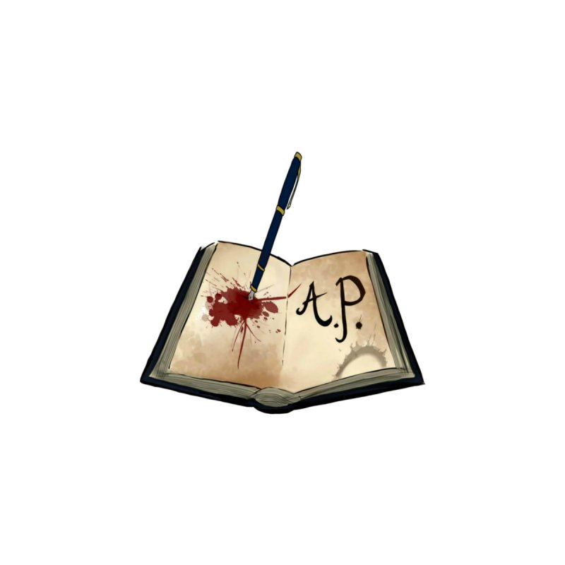 AP Logo ( Designed by Unapologetic Artist) Accessories Bag by Augie's Attic