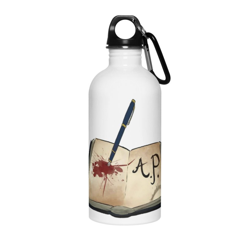 AP Logo ( Designed by Unapologetic Artist) Accessories Water Bottle by Augie's Attic