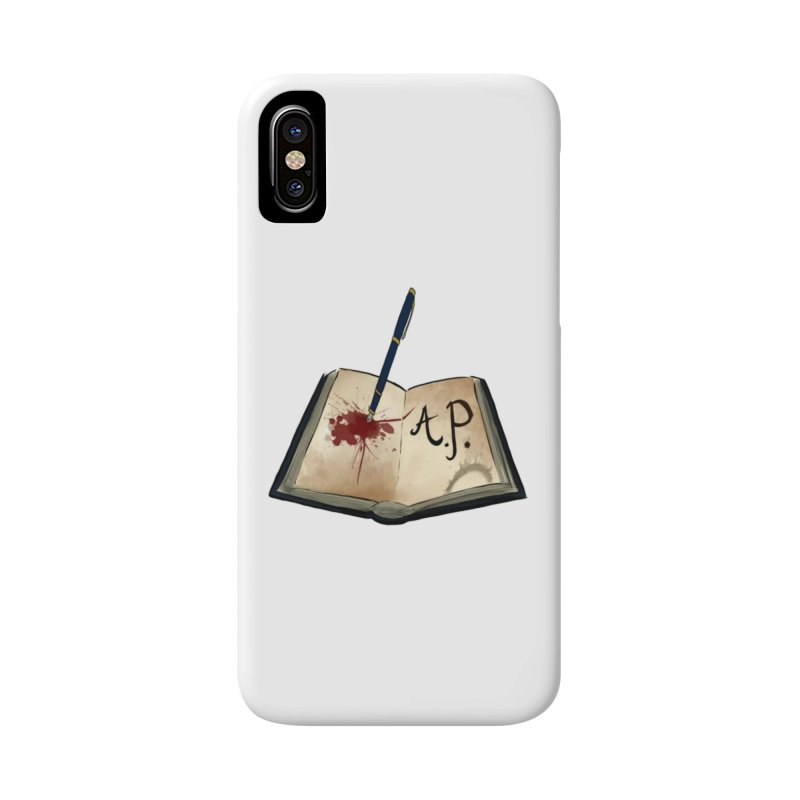 AP Logo ( Designed by Unapologetic Artist) Accessories Phone Case by Augie's Attic