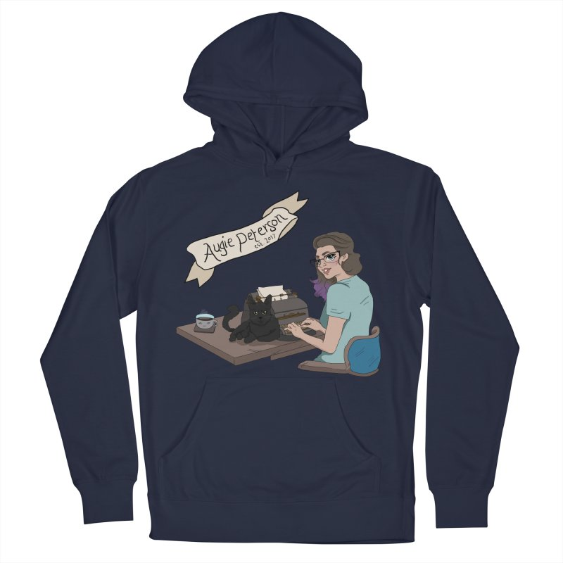 Cats and Typewriters (Desgined by Lenedoesnotpop) Men's Pullover Hoody by Augie's Attic