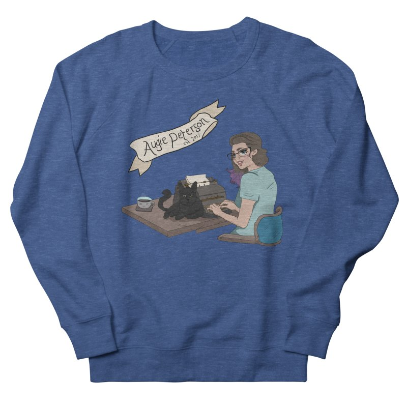 Cats and Typewriters (Desgined by Lenedoesnotpop) Men's Sweatshirt by Augie's Attic