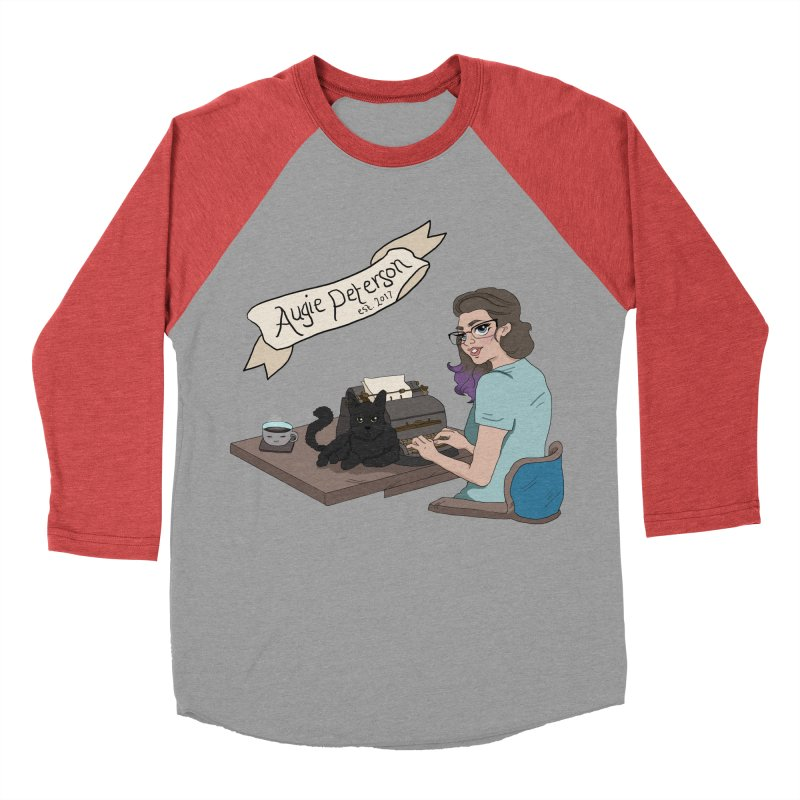 Cats and Typewriters (Desgined by Lenedoesnotpop) Men's Longsleeve T-Shirt by Augie's Attic