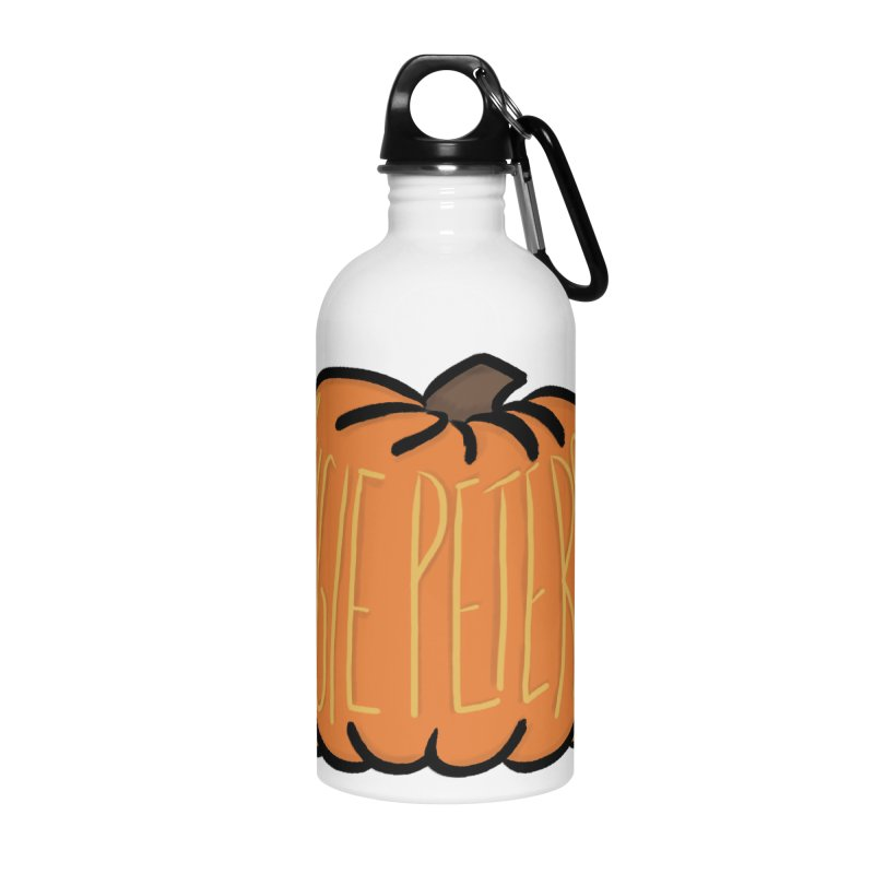 Augie Peterson Pumpkin Accessories Water Bottle by Augie's Attic