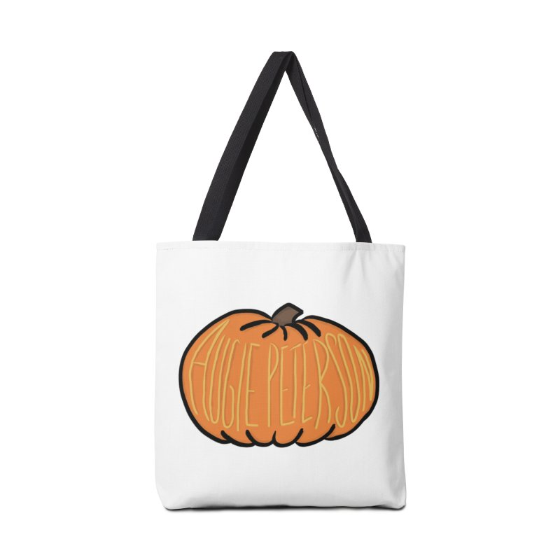 Augie Peterson Pumpkin Accessories Tote Bag Bag by Augie's Attic