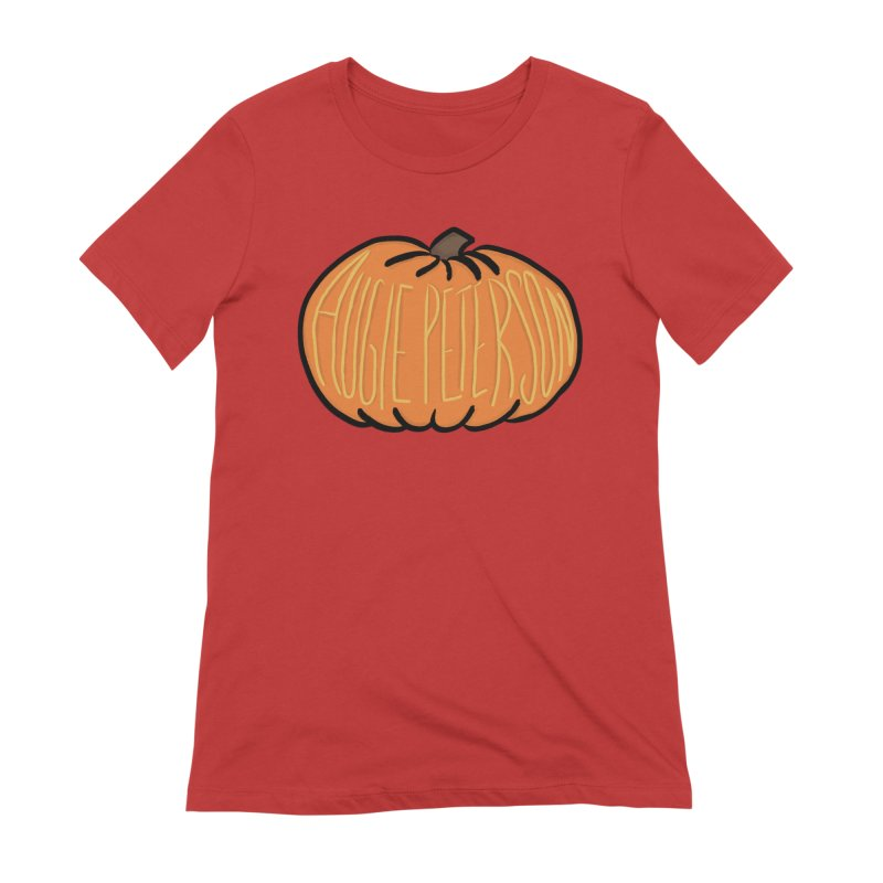 Augie Peterson Pumpkin Women's Extra Soft T-Shirt by Augie's Attic