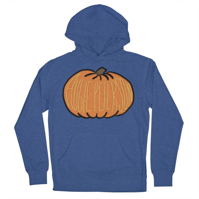 Augie Peterson Pumpkin Women's French Terry Pullover Hoody by Augie's Attic