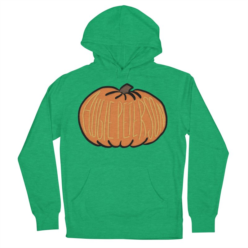 Augie Peterson Pumpkin Men's French Terry Pullover Hoody by Augie's Attic