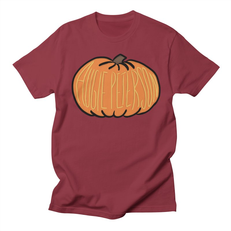 Augie Peterson Pumpkin Men's Regular T-Shirt by Augie's Attic