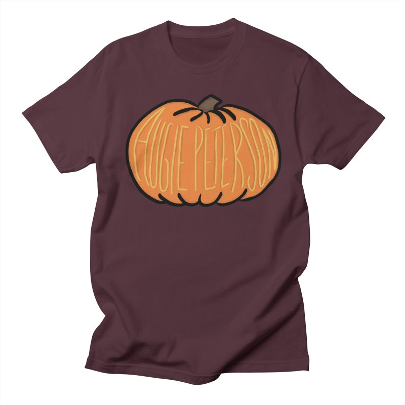Augie Peterson Pumpkin Women's Regular Unisex T-Shirt by Augie's Attic