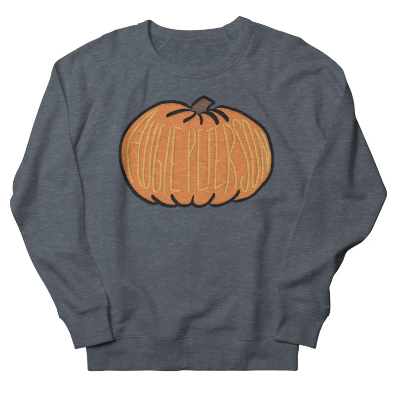 Augie Peterson Pumpkin Men's French Terry Sweatshirt by Augie's Attic