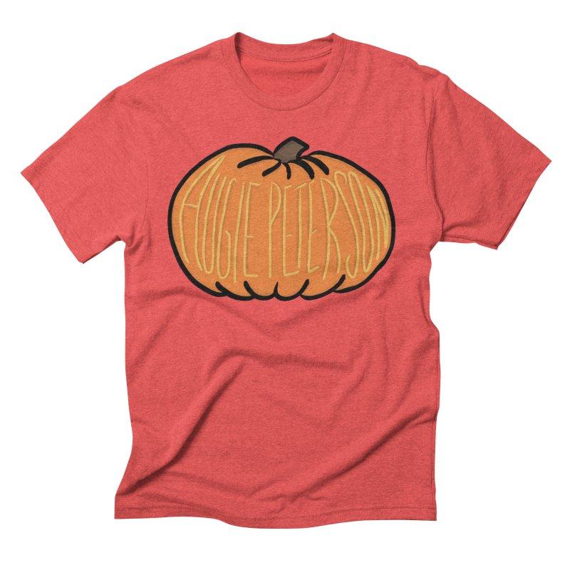 Augie Peterson Pumpkin Men's Triblend T-Shirt by Augie's Attic