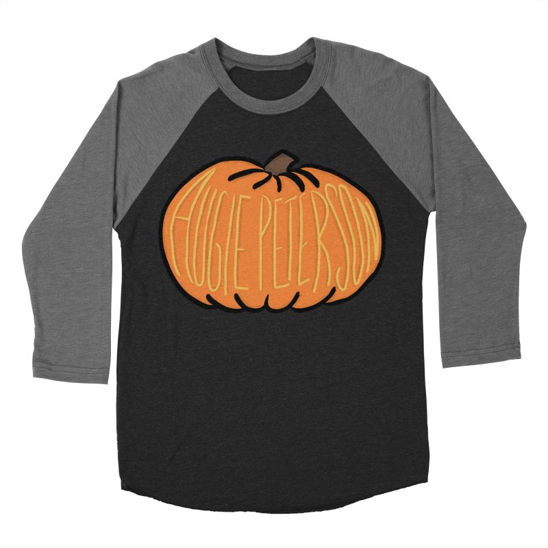Augie Peterson Pumpkin Women's Baseball Triblend Longsleeve T-Shirt by Augie's Attic