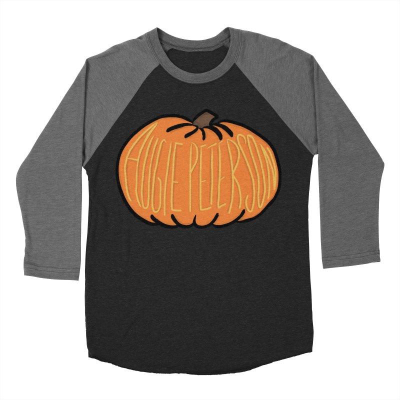 Augie Peterson Pumpkin Men's Baseball Triblend Longsleeve T-Shirt by Augie's Attic